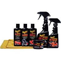 $33 » Meguiar's Motorcycle Care Kit – Package for Motorcycle Cleaning and Detailing – G55033