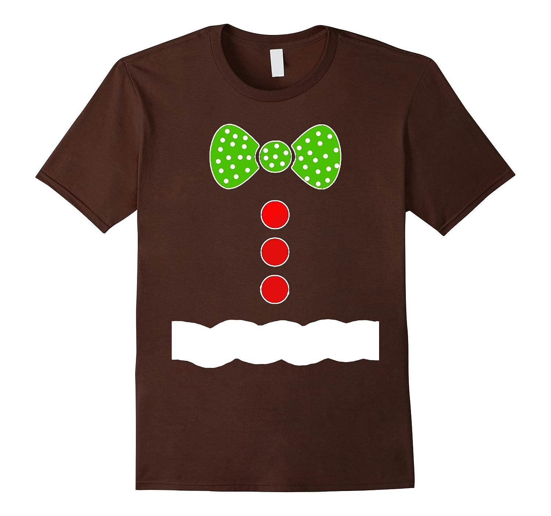 Gingerbread Man Costume T Shirt - Christmas Shirts-azvn