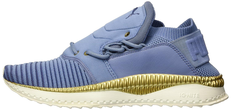 PUMA Women's Tsugi Shinsei Evoknit Wn Sneaker B072Y2556X White 9.5 M US|Infinity-blue Indigo-whisper White B072Y2556X cbc0ee