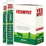 Vermont Smoke & Cure Meat Sticks, Beef & Pork, Antibiotic Free, Gluten Free, Original, 1oz Jerky Stick, 24 Count