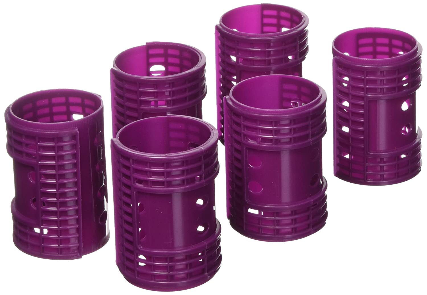 Fromm International Diane Snap on Magnetic Roller, Purple, 1.75-Inch, 6 Per Bag D4723