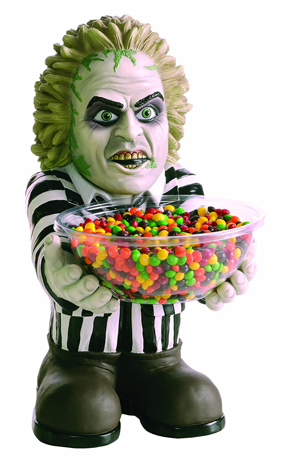 Beetlejuice Candy Bowl Holder Rubies Costume Company 68535
