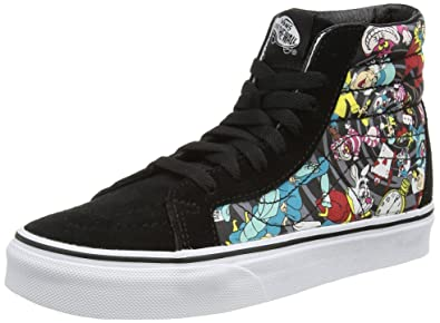 Vans Unisex Sk8-Hi Reissue (Disney) Rabbit Hole Black Skate Shoe 10.5 5dd399c5371ef