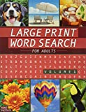 Large Print Word Search Book - Volume 1: Fun and Interesting Variety of Topics.