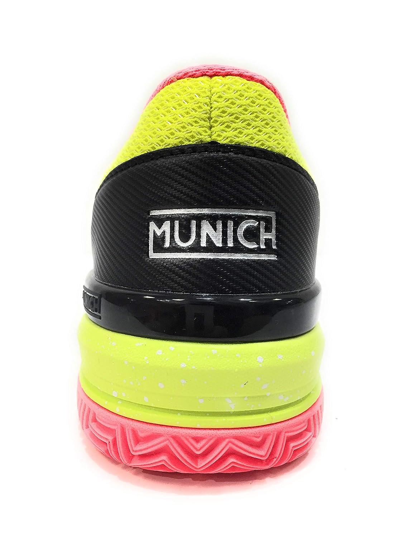 Munich Zapatillas Padel PAD2 4032011 (43 EU): Amazon.es ...