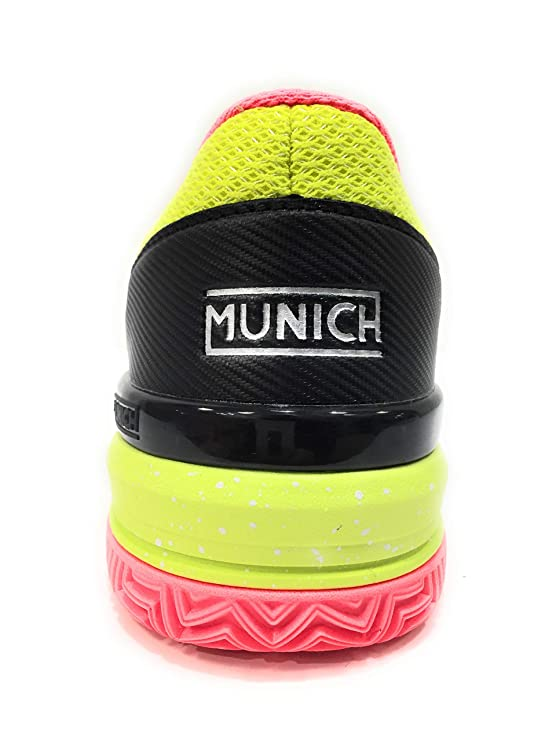Munich Zapatillas Padel PAD2 4032011 (45 EU): Amazon.es ...