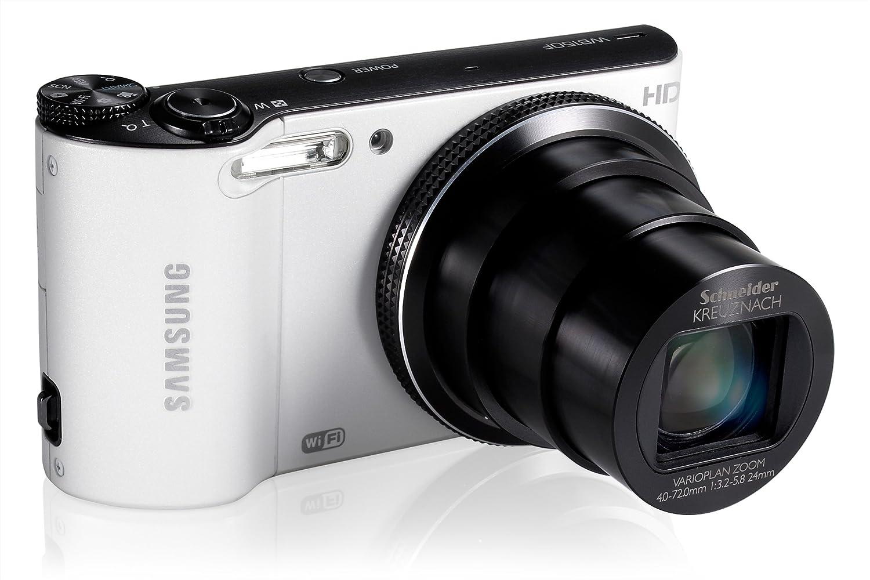 Amazon.com : Samsung WB150F 14.2-megapixel Digital Camera - White ...