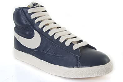 sale retailer 74c31 4ff1f Nike Blazer Mid Leather Vintage Navy 525366400 for Women ...