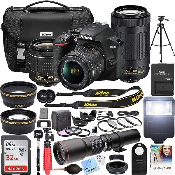 Amazon.com: NIKON_D3500_1588_Kits: Camera & Photo