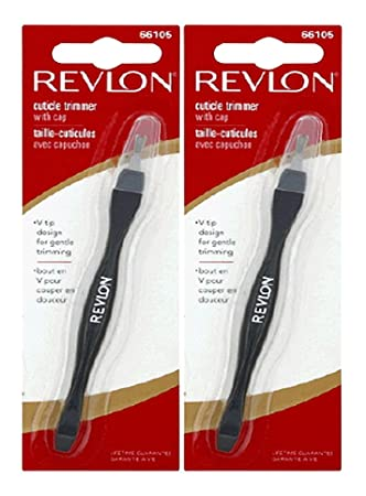Amazon.com: Revlon Beauty Tools Cuticle Trimmer with Cap - 2 Pack: Beauty
