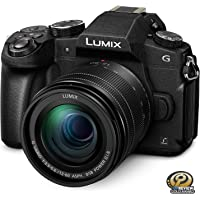 PANASONIC LUMIX G85 4K Digital Camera, 12-60mm Power O.I.S. Lens, 16 Megapixel Mirrorless Camera, 5 Axis In-Body Dual Image Stabilization, 3-Inch Tilt and Touch LCD, DMC-G85MK (Black)