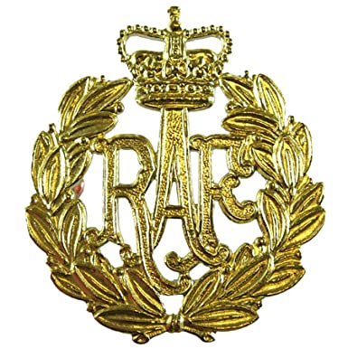 f60d83dd4944 Issue Royal Air Force RAF Airmen Beret/Cap Badge: Amazon.co.uk: Clothing