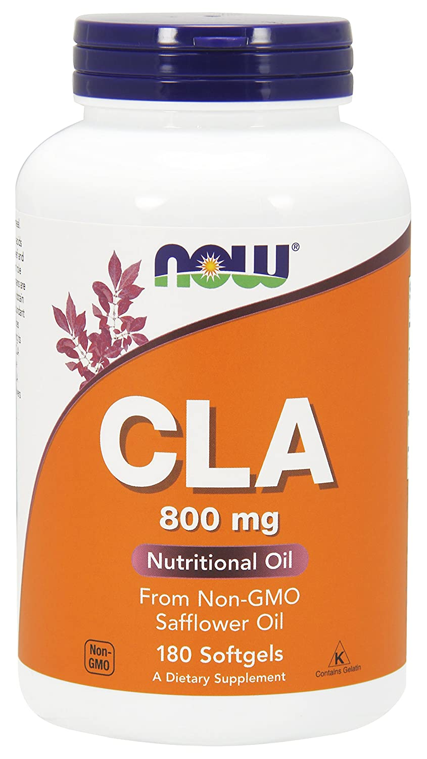 NOW® CLA, 800 mg, 180 Softgels