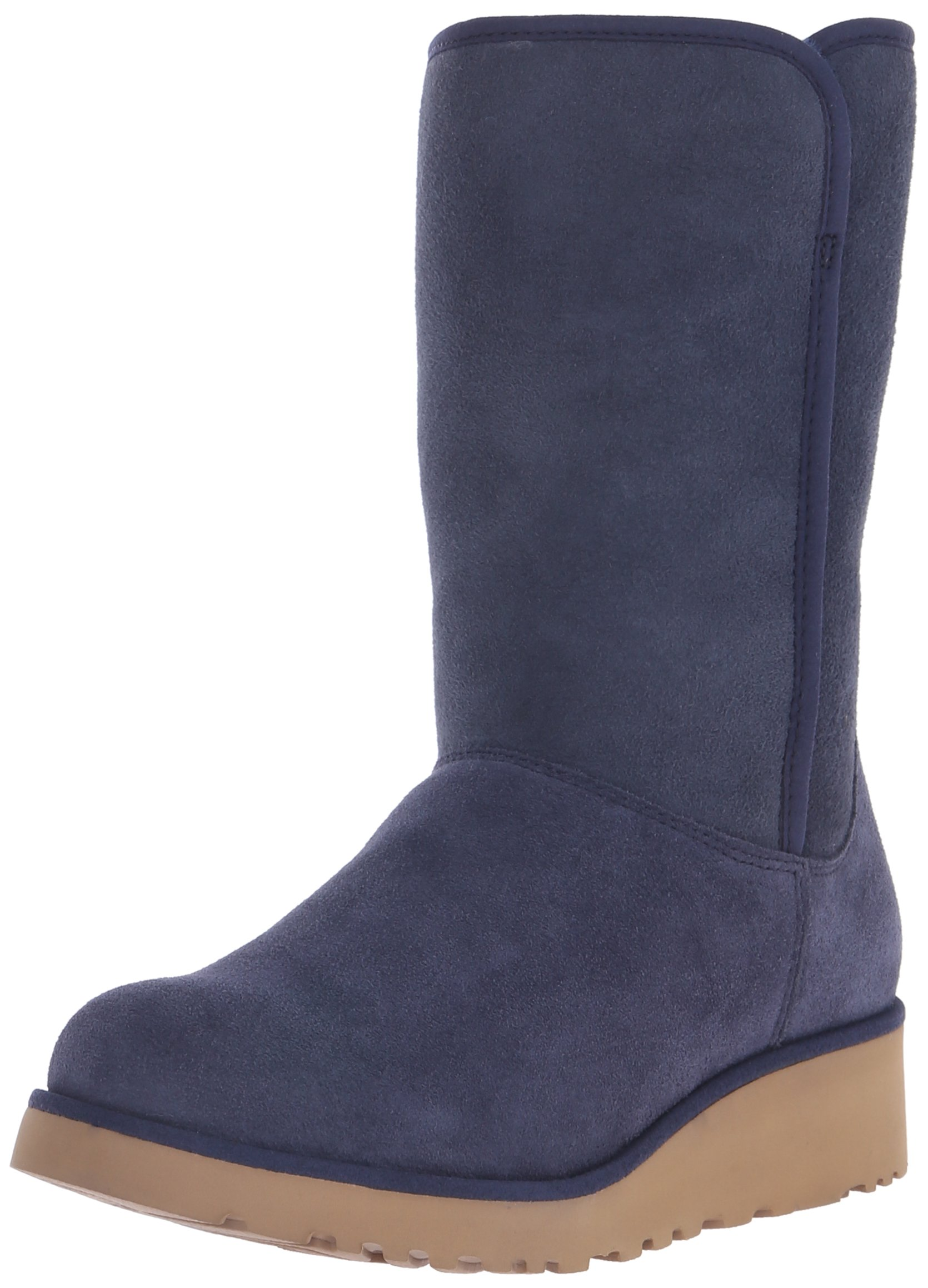 UGG Women's Amie Winter Boot, Navy, 7.5 B US
