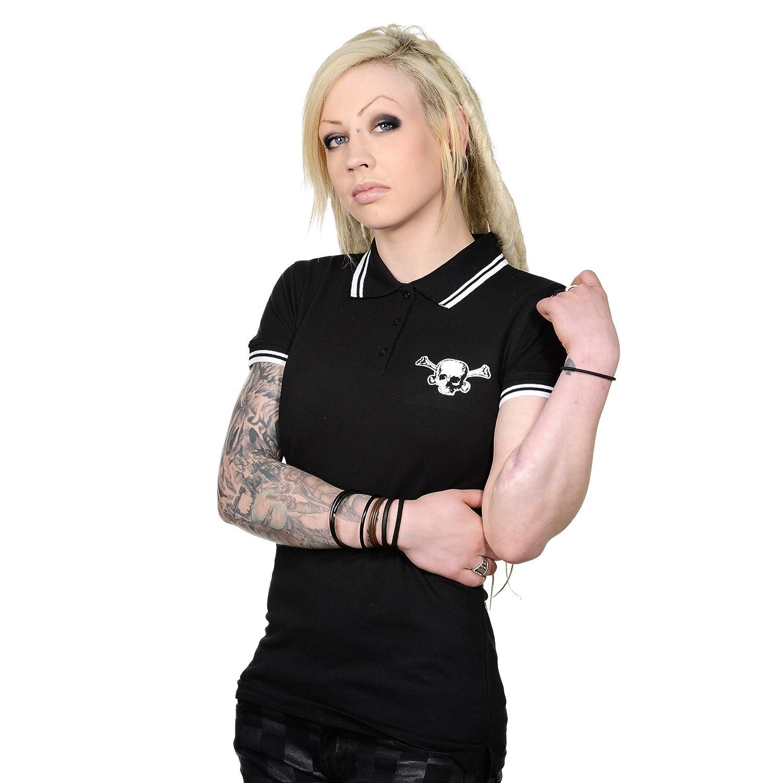 Toxico Clothing - Camisas - Polo - para mujer Negro negro Medium ...
