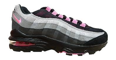 code promo d8429 d9c0a Nike Air Max '95 Le (GS), Chaussures de Sport Fille, Noir ...