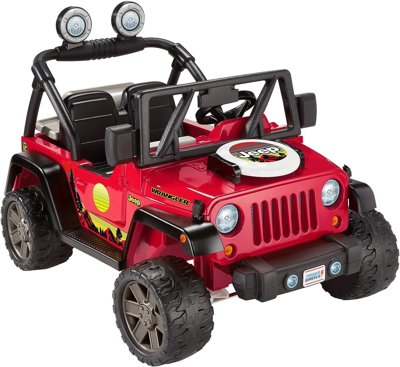 Fisher-Price Power Wheels BBQ Fun Jeep Wrangler