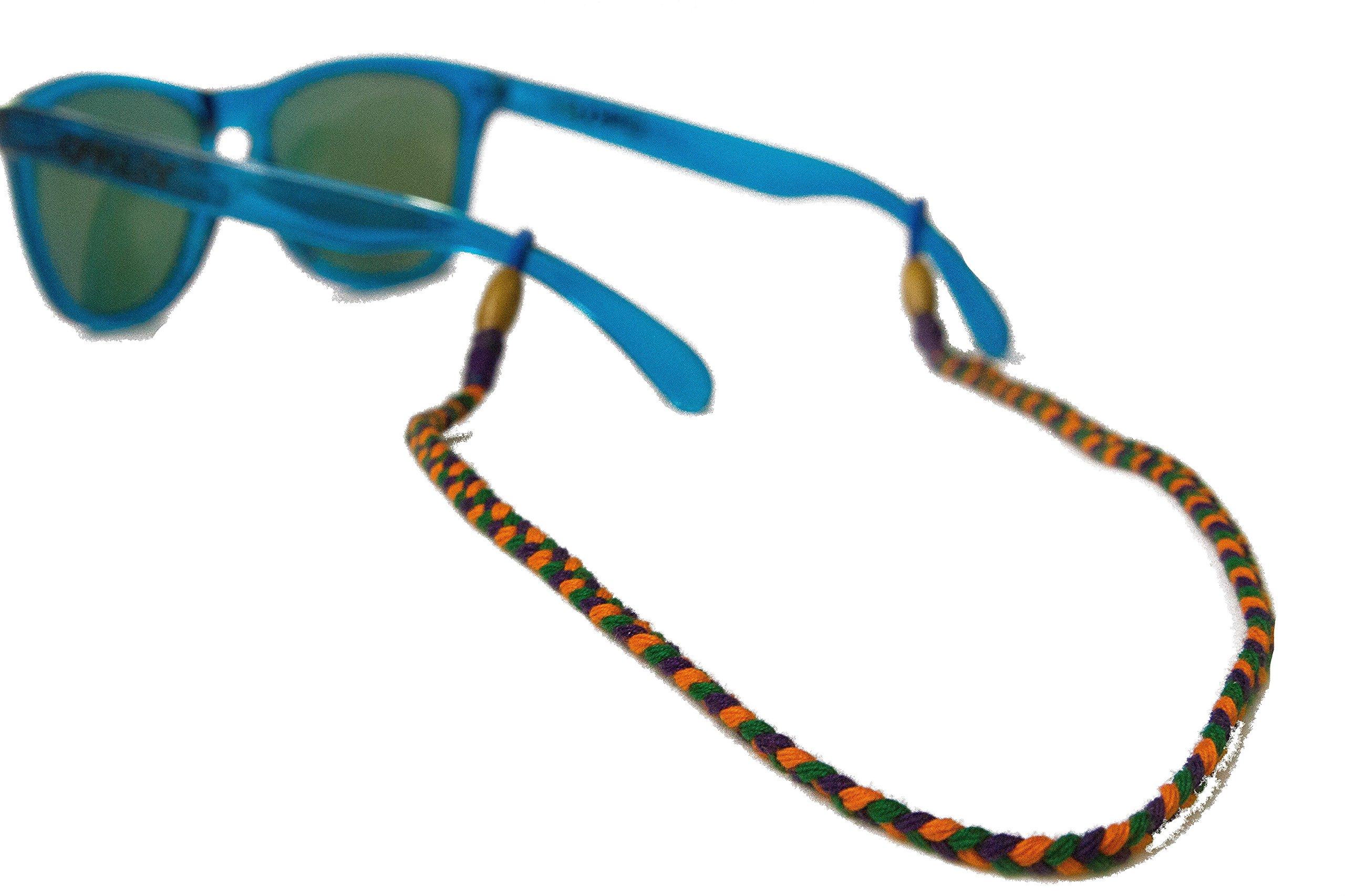 Adjustable Eyewear Retainer for Men – Handmade Sunglass Strap Holder - Universal Fit - Mayami