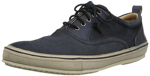 John Varvatos Men's Redding Oxford Fashion Sneaker, Midnight, ...