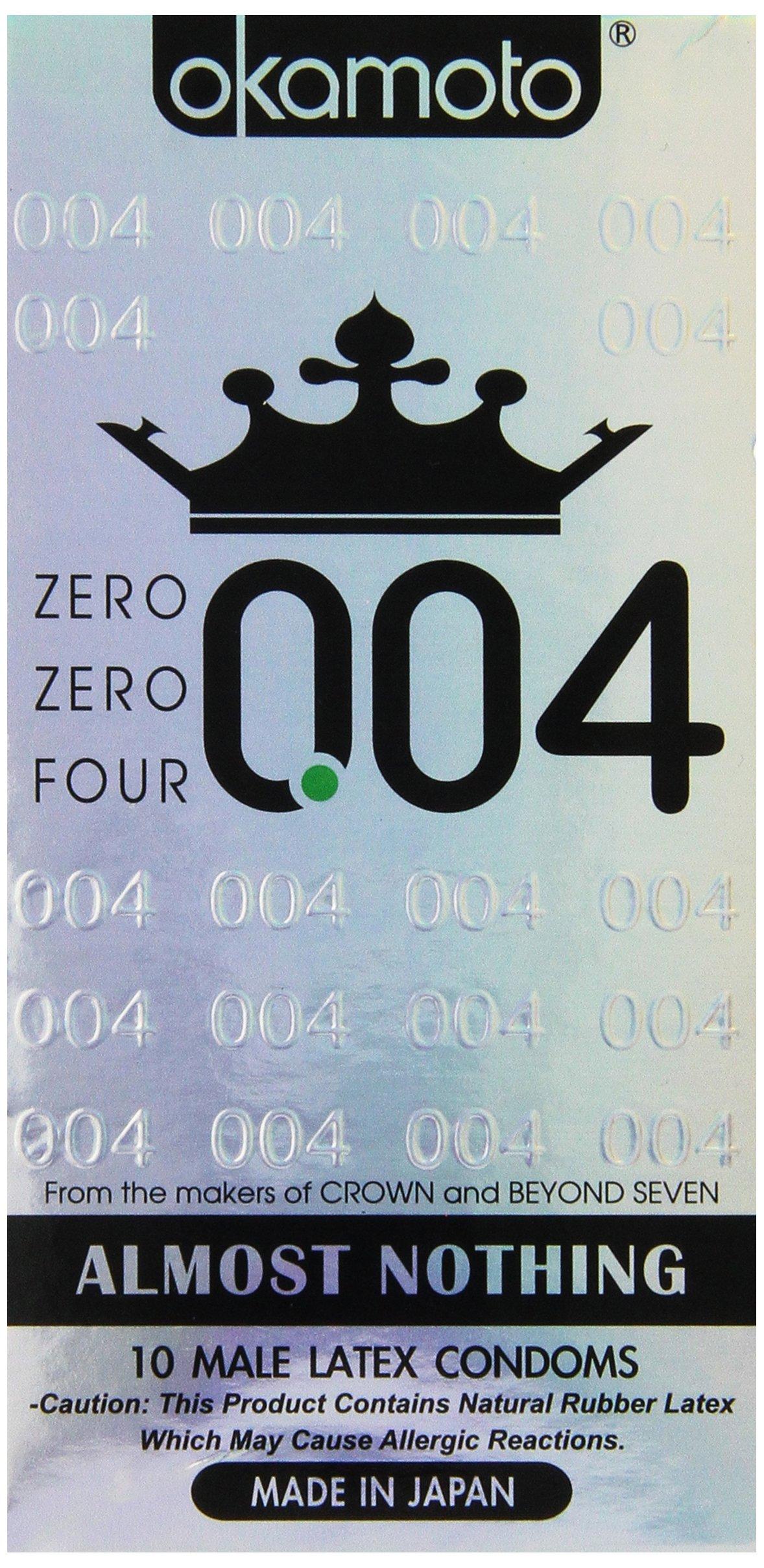 Okamoto 0.04 Zero Zero Four Condoms 10ea pack