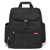 Skip Hop Forma Changing Backpack, Jet Black