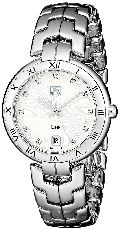 TAG Heuer Women s WAT1311.BA0956 Link Analog Display Quartz Silver Watch