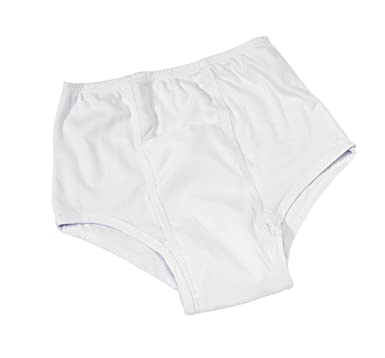 Kanga - Par de pañales de incontinencia para adultos (impermeable, talla XL: 112-117 cm), color blanco: Amazon.es: Industria, empresas y ciencia