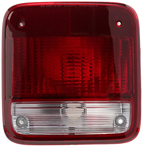 Amazon.com: Depo Chevrolet/GMC Van Replacement Taillight ...