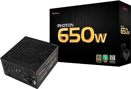 """650 WATT 650W POWER SUPPLY for Intel AMD PC Desktop Computer NEW 4.5/"""" Fan Gold"""