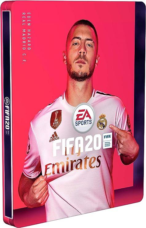 Steelbook FIFA 20 - Edición estándar (No incluye juego): Amazon.es: Videojuegos