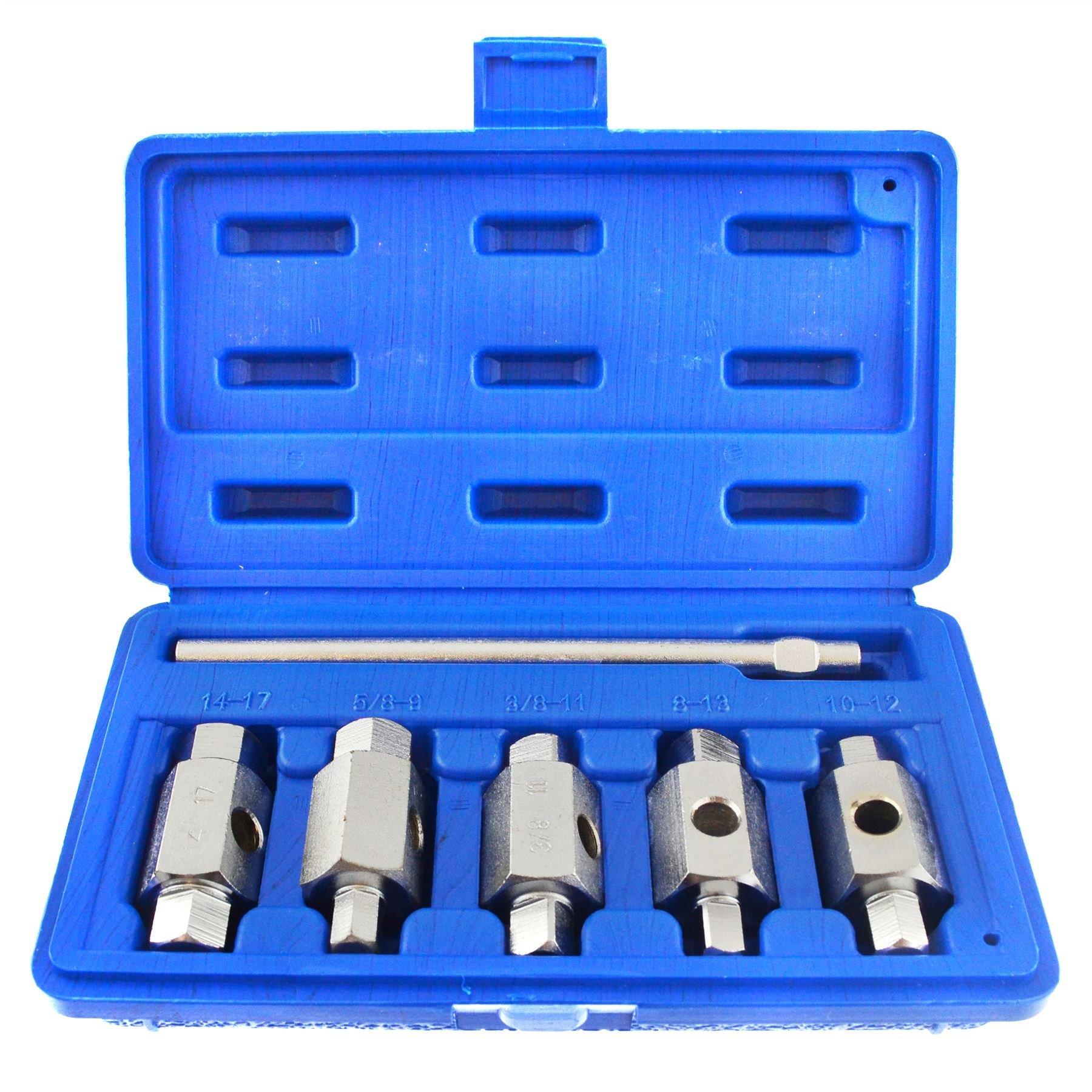 Drain Sump Plug Key Tool Set Axles Gear Box Car Repair Oil Change BERGEN AT969