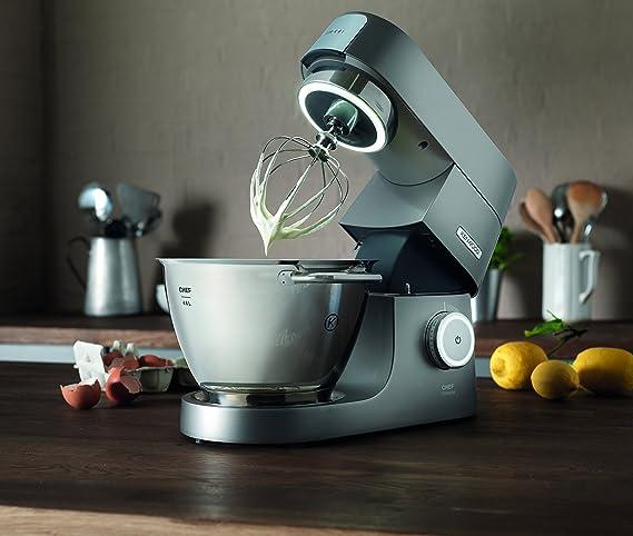 Kenwood KVC7300S Chef Máquina de cocina de titanio, 1500 W Único 4.6 L plata: Amazon.es: Hogar