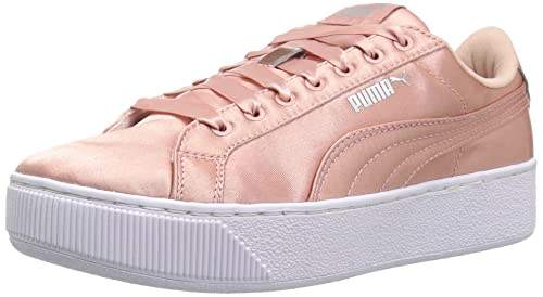 Puma Women s s Vikky Platform En Pointe Sneaker  Amazon.co.uk  Shoes ... 9ce59d769
