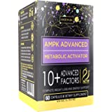 Actif AMPK Advanced Metabolic Activator with 10+ Factors, Non-GMO, Weight Loss and Energy Support, 60 Capsules