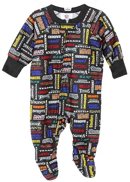 8fd992989 Amazon.com  NFL Baby and Little Boys All Team Football Sleeper ...