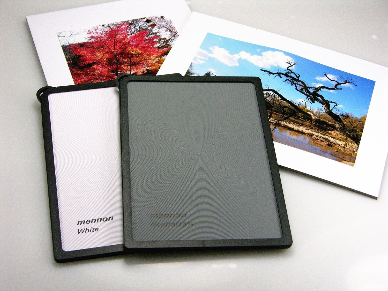 Mennon Multi-Function Waterproof Gray Cards 2 in 1 Set by Mennon