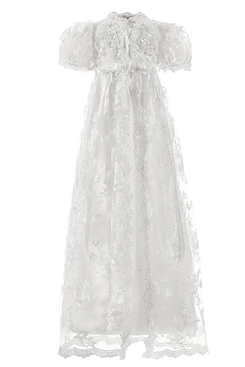 Pigpig Ivory Lace Baby Girl Christening Gowns Baby Baptism Dresses China