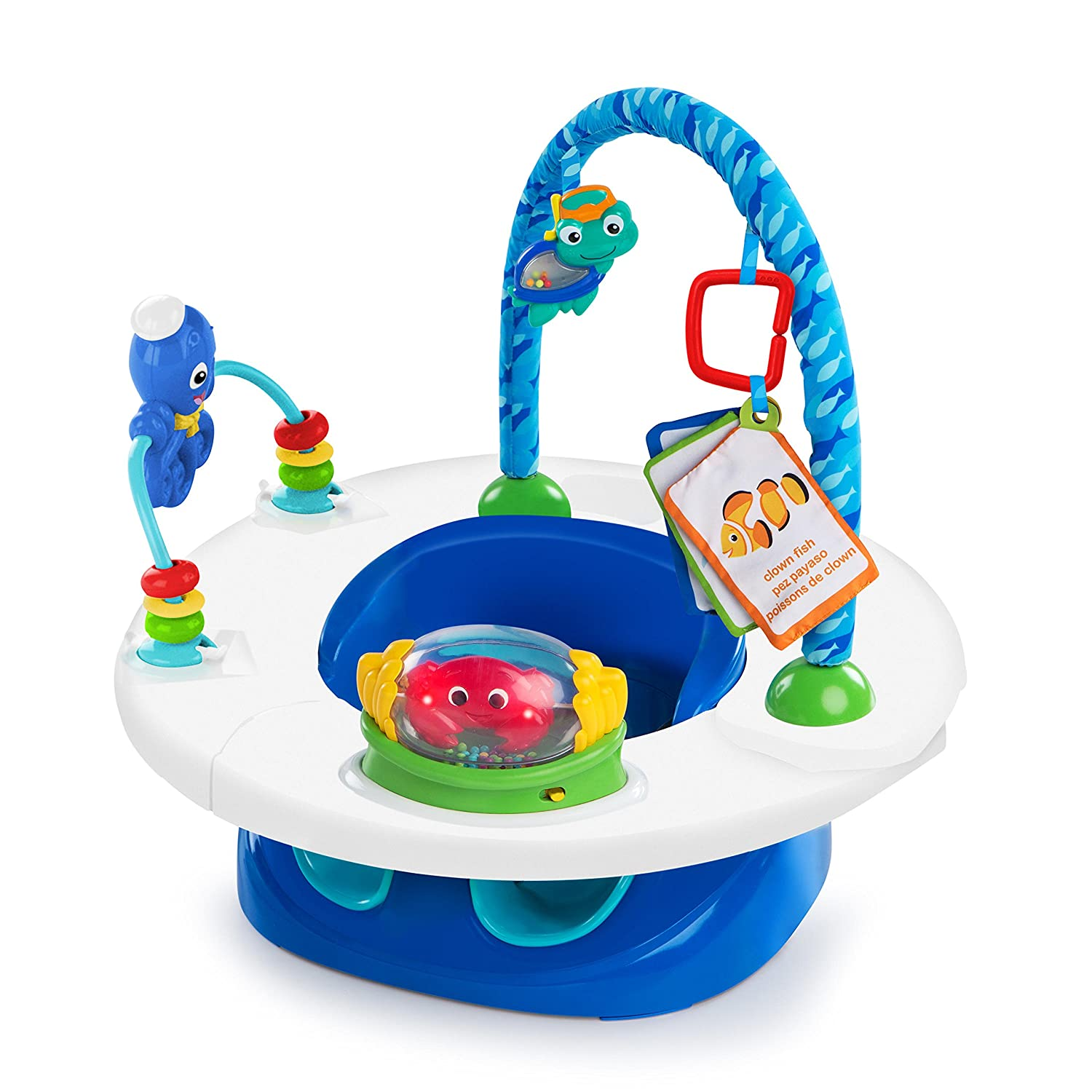 Baby Einstein 3-in-1 Snack and Discover Seat Kids II UK Limited 10921