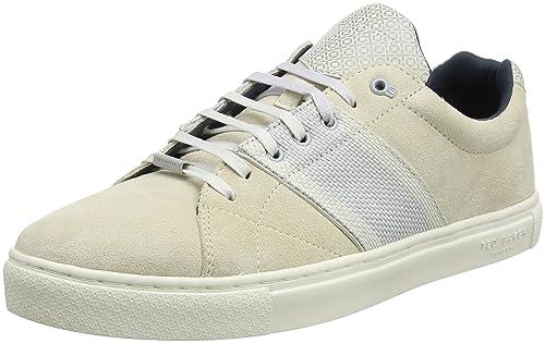 Ted Baker Dannez, Zapatillas Para Hombre, Marrón (Light Tan #a52a2a), 46 EU