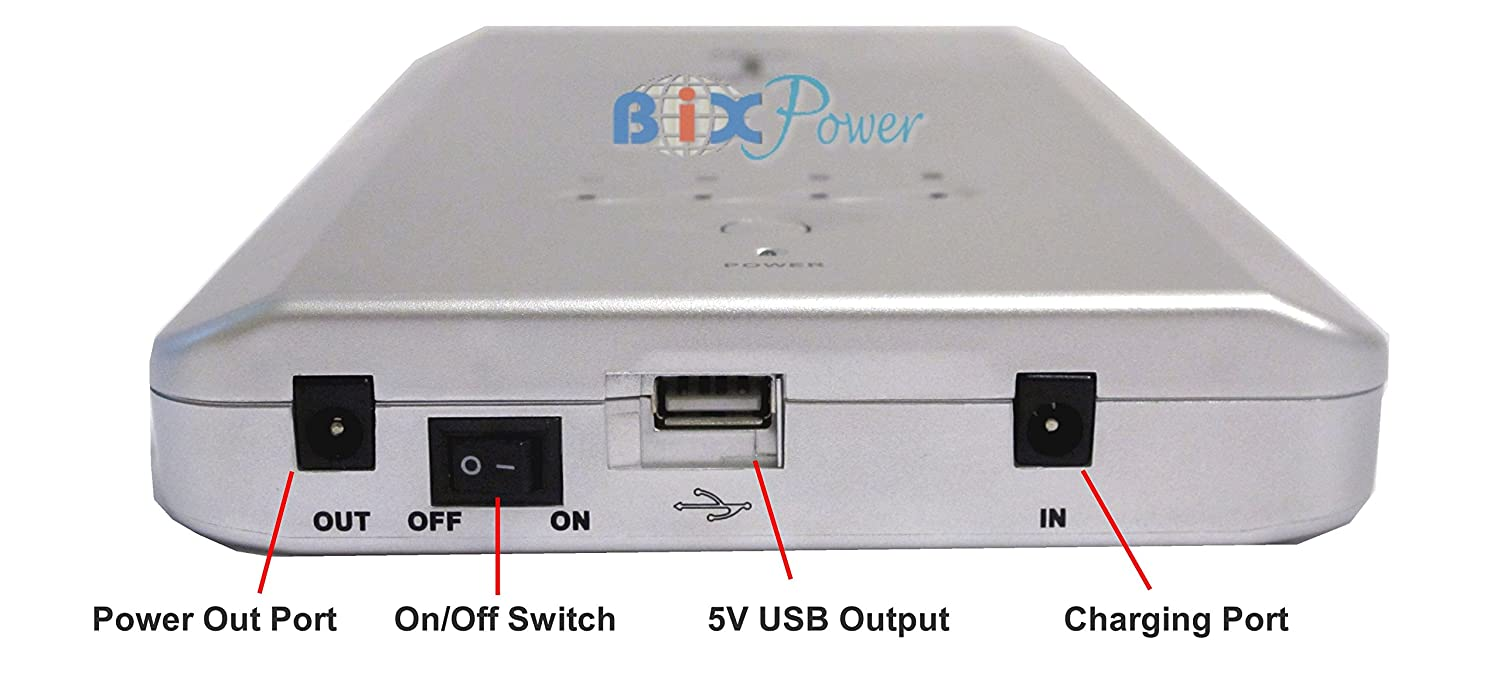 Bixpower 188 Watt Hour Wh Super High Capacity 12v Circuit To 19v Laptop Power Supply Concept Circuits Designed External Rechargeable Battery Pack Bp160 Computers Accessories