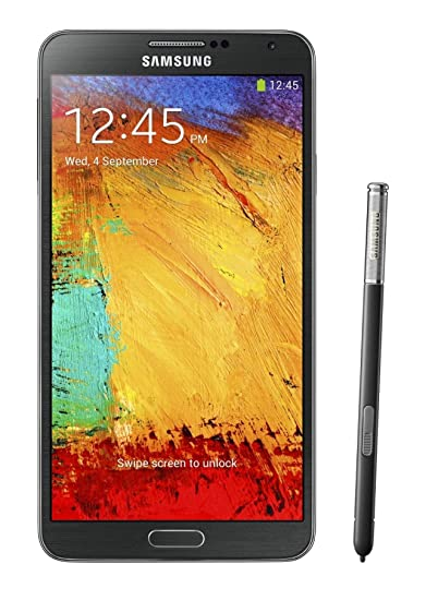 97bfc721b3a Amazon.com  Samsung Galaxy Note 3 N900 32GB Unlocked GSM 4G LTE Android  Smartphone w S Pen Stylus - Black  Cell Phones   Accessories