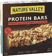 NATURE VALLEY Protein Bars Peanut Almond & Dark Chocolate Flavour, 4-Count, 148 Gram