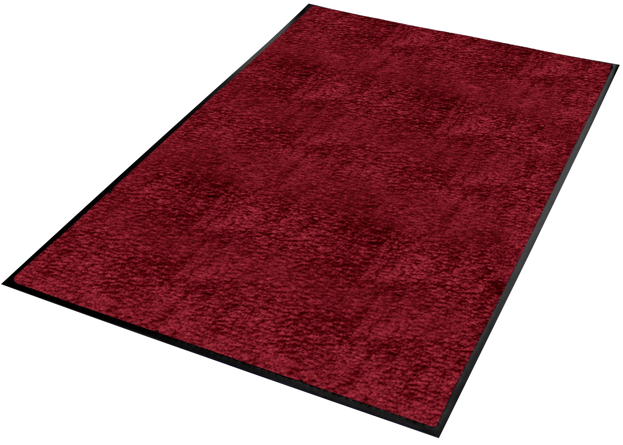 Guardian Platinum Series Indoor Wiper Floor Mat, Rubber with Nylon Carpet, 6'x8', Burgundy by Guardian (Image #5)