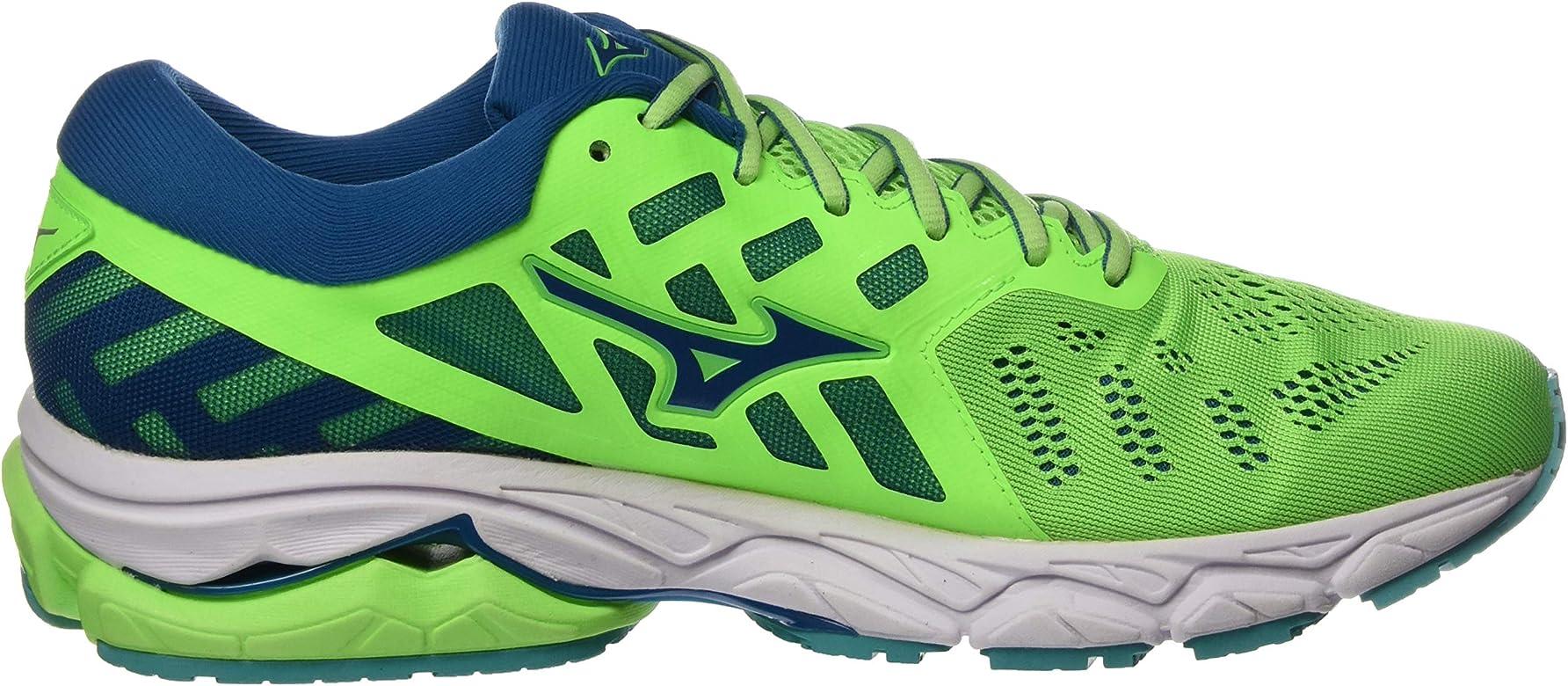 Mizuno Wave Ultima 11, Zapatillas de Running Hombre, Verde (Gecko/Blue Sapphire/Wht 16), 39 EU: Amazon.es: Zapatos y complementos