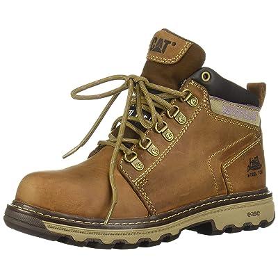Caterpillar Women's Ellie Steel Toe / Dark Beige Work Boot: Shoes