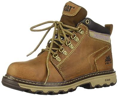 3610adab753 Caterpillar Women's Ellie Steel Toe / Dark Beige Work Boot