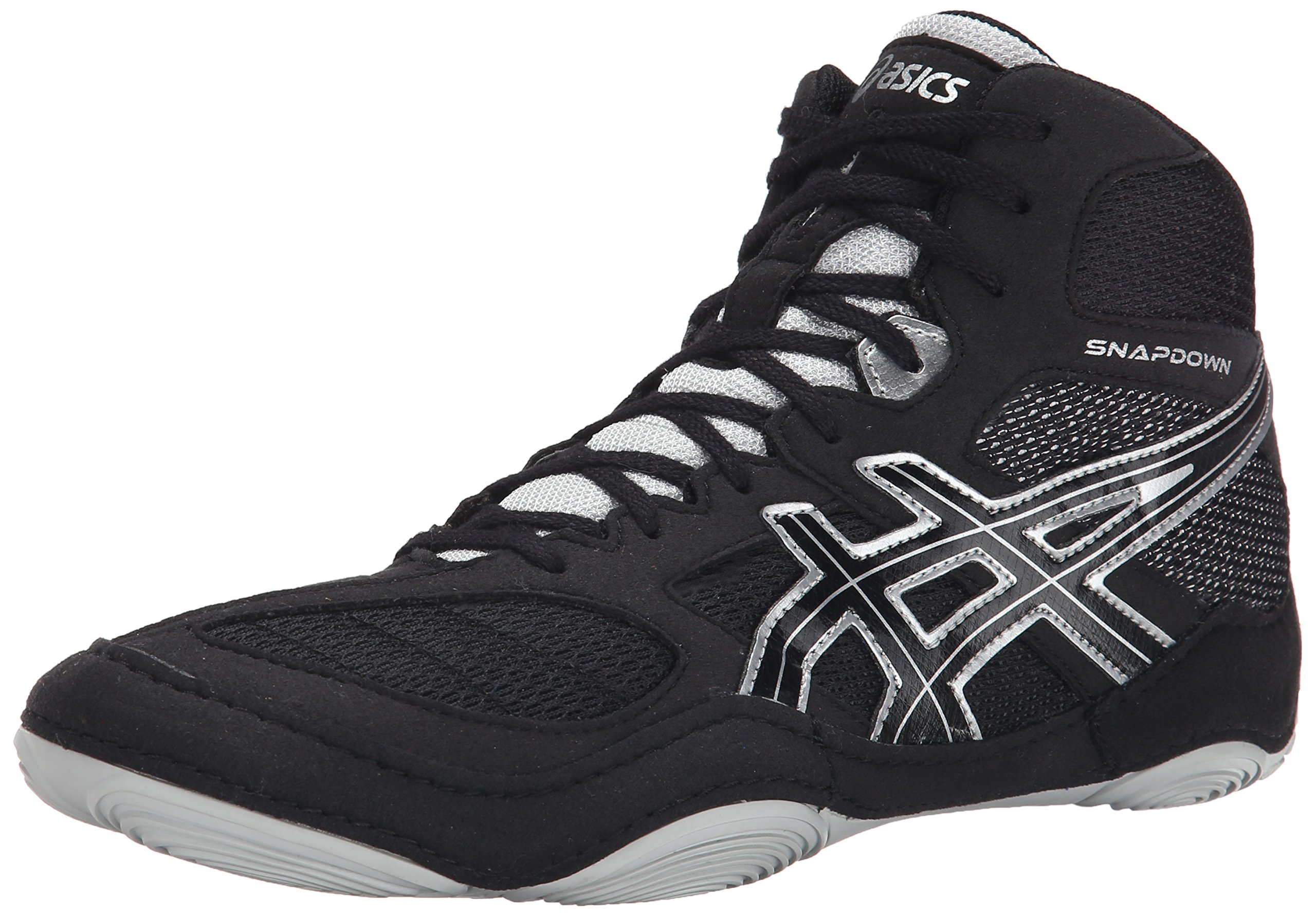 ASICS Men's Snapdown, Black/Silver, 10.5 M US by ASICS