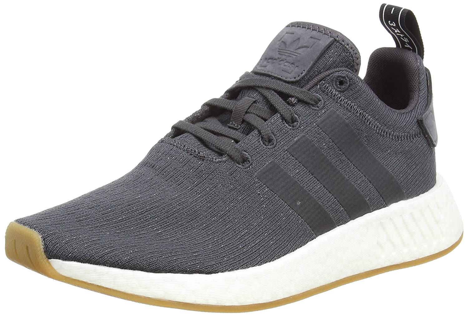 adidas Originals NMD_R2, Zapatillas Unisex Adulto, Gris (Grey F17/Grey Five F17/Core Black 000), 42 2/3 EU