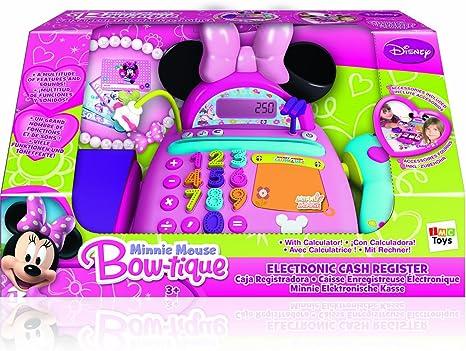 IMC Toys - Caja Registradora Minnie con Micro Y Escaner 43-180154: Amazon.es: Juguetes y juegos