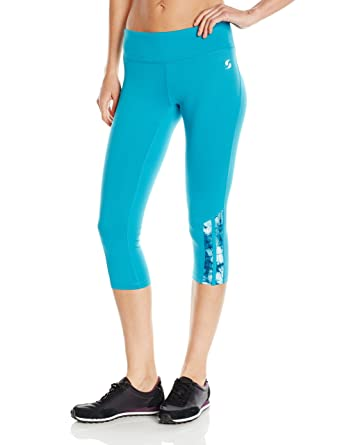 0208e55ceee4dc Soffe Women's Run Capri Legging at Amazon Women's Clothing store: